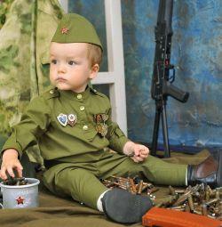 Военная форма времeн СССР для малыша