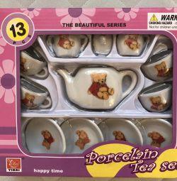 Фарфоровая посудка