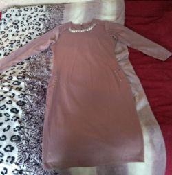 Нове трикотажне офісне плаття