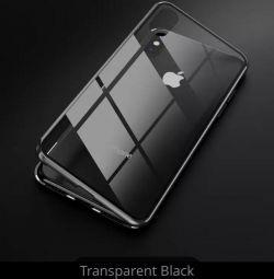 Новый магнитный чехол нa айфон XSmax