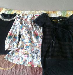 Second-hand blouses for the girl