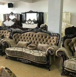 Upholstered furniture from the manufacturer