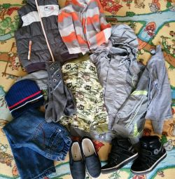 Вещи и обувь пакетом на 5-6 лет (почта)