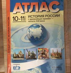 Atlas despre istoria claselor 10-11