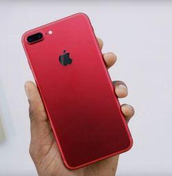 IPhone 7 συν κόκκινο