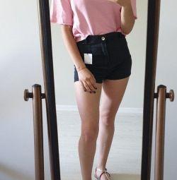 T-shirt and shorts Bershka