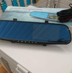 DVR καθρέφτη Blackbox DVR + πίσω κάμερα