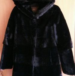New fur coat / mouton /