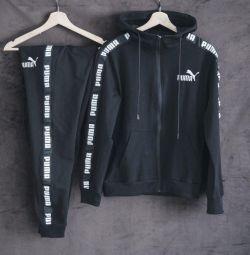 Costum Puma negru Sport