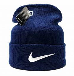 Шапка Nike (т.сіній) flap