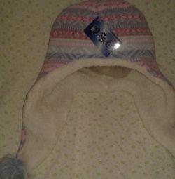 Ένα νέο καπέλο το χειμώνα.