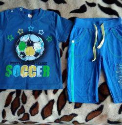 Літній костюм 1-2 роки