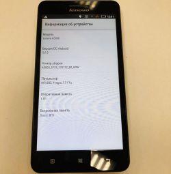 Phone Lenovo A5000 White