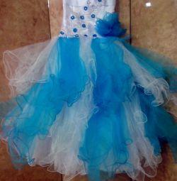 Mezuniyet elbisesi 6-8 yaş