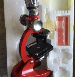 Jucărie pentru copii LOMO pentru microscop din URSS