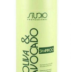 Шампунь с маслами авокадо и оливы, 1000 мл