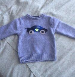 Pulover pentru vârste cuprinse între 9 și 12 luni
