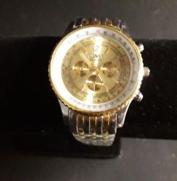 Wrist watch W074, steel