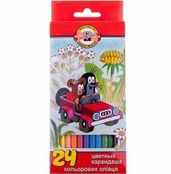 Creioane 24 col Koh-i-Noor