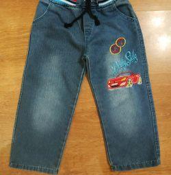 3-4 yıl boyunca kot pantolon.