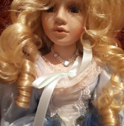 15935 Doll collection Snezhana, porcelain 46 cm