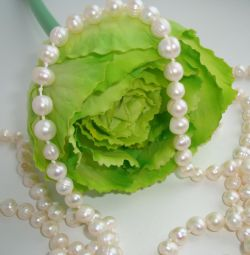 Beads from natural pearls
