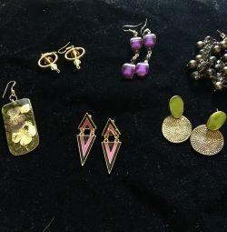 Cercei, bijuterii