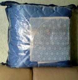 Одеяло-покрывало+уголок на выписку