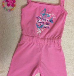 Children's new overalls
