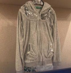 Спортивный костюм велюровый р.116