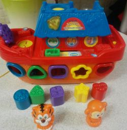 Children's toy boat razvrajka electro