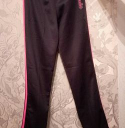 Kızlar için yeni spor pantolon