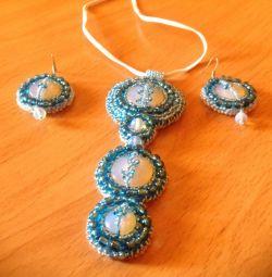 Ornament albastru