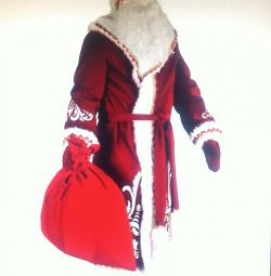 ? Santa with an ornament Santa Claus outfit