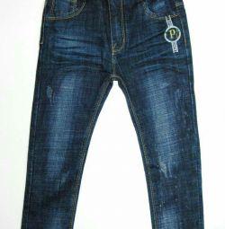 Jeans pentru copii (stretch) (3-7 ani)
