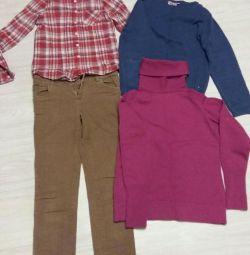 Ρούχα για κορίτσια 140 εκ.