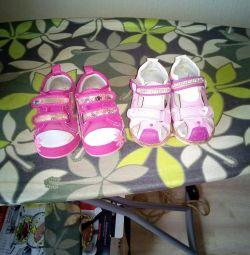 Pantofi pentru fete 22-26 dimensiuni
