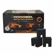 Cocobel Airflow natural charcoal-1kg.