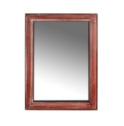 MIRROR SIMONE HM7062 RED PAIN 70X4X100