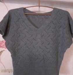 Women's knitted sleeveless !!!