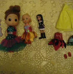 Новый набор мини-куколок с одеждой и аксессуарами!