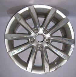 Disk cast Volkswagen Passat B6 R17 (chipping, scuffing) oem 3AA6010256 (skl-3)