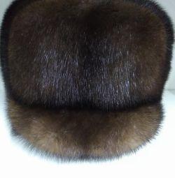 Шапка/формовка норка мужская (