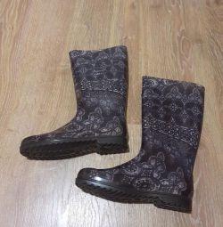 μπότες από καουτσούκ