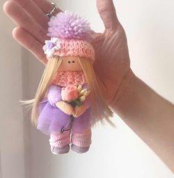 Doll keychain