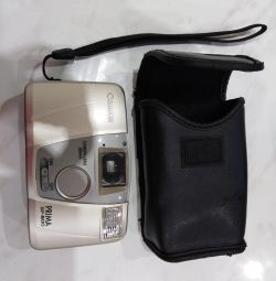 Battery-powered camera with case