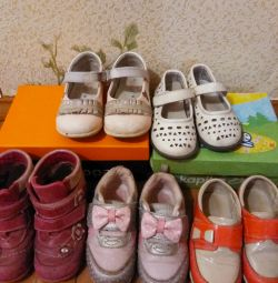 Shoes 21, 22, 23, 24, 26