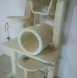 Комплекс для кошек, когтеточка