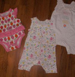 Καλοκαιρινά ρούχα για κορίτσια