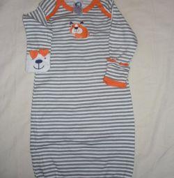 Kız için özel pijamalar (Gerber)
